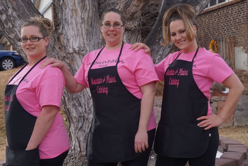 The Seppelt Sisters - A family tradition of quality and flavor make Mountain and Plains Catering the family you want to invite to all of your special events.
