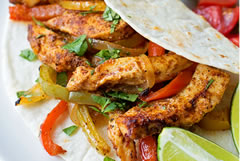Add sizzle to your event - Mountain and Plains Catering's Fajita Bar